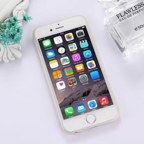 For iPhone 6 & 6s TPU Frosted Embossed Cartoon Lion Pattern Protective Case Back Cover