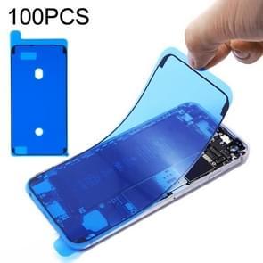 100 PCS LCD Frame Bezel Waterproof Adhesive Stickers voor iPhone 6s Plus
