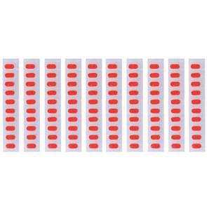 100 stuks voor iPhone 6s Plus moederbord inductie waterdichte zelfklevende Stickers