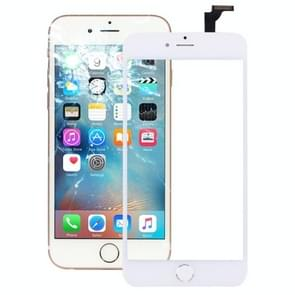 2 in 1 voor iPhone 6 Plus Original Touch Panel Digitizer + Silver Home Button(Wit)