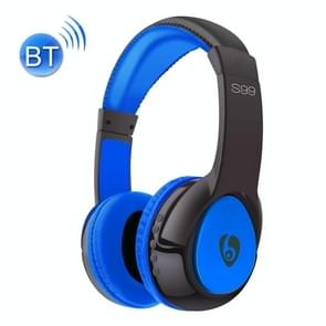 OVLENG S99 Bluetooth Stereo Headset Headphones with Mic, Support FM & TF Card, For iPad, iPhone, Galaxy, Huawei, Xiaomi, LG, HTC and Other Smart Phones(Blue)