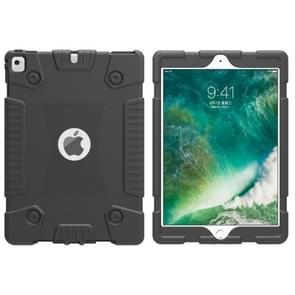 Full Coverage Silicone Shockproof Case for iPad 9.7 (2018) & iPad Pro 9.7 & iPad 9.7 inch (2017) & iPad Air 2 & iPad Air (Black)