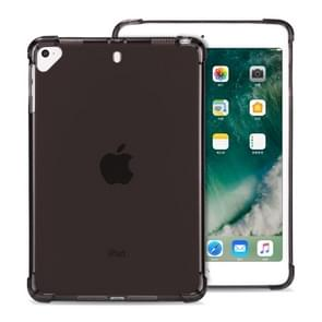 Highly Transparent TPU Full Thicken Corners Shockproof Protective Case for iPad 9.7 (2018) & (2017) / Pro 9.7 / Air 2 / Air (Black)