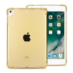 Highly Transparent TPU Full Thicken Corners Shockproof Protective Case for iPad 9.7 (2018) & (2017) / Pro 9.7 / Air 2 / Air (Gold)