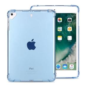 Highly Transparent TPU Full Thicken Corners Shockproof Protective Case for iPad 9.7 (2018) & (2017) / Pro 9.7 / Air 2 / Air (Blue)