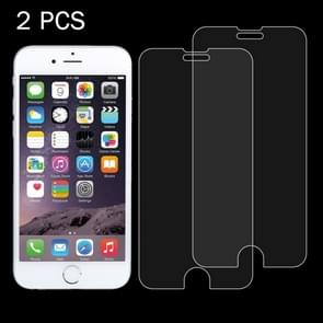 2 PCS for iPhone 8 & iPhone 7 0.26mm 9H Surface Hardness 2.5D Explosion-proof Tempered Glass Non-full Screen Film