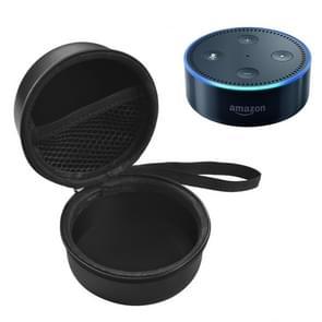 Portable New Amazon Echo Dot 2nd Intelligent Bluetooth Speaker Storage Bag Protective Case(Black)