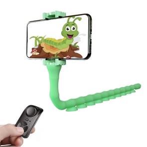 RKL9 Creative Budding Lazy Phone Bracket Live Broadcast Octopus Tripod (Green)