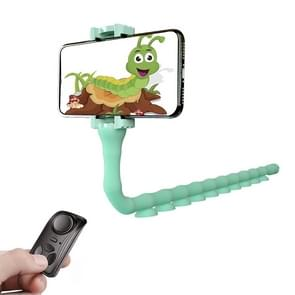 RKL9 Creative Budding Lazy Phone Bracket Live Broadcast Octopus Tripod (Mint Green)