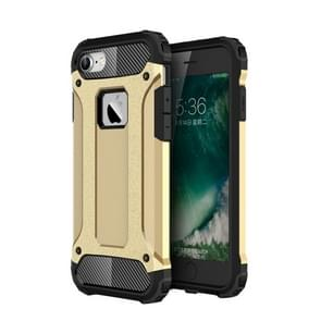 For  iPhone 8 & 7  Tough Armor TPU + PC Combination Case(Gold)