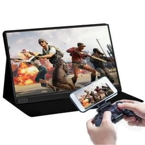 15.6 inch 1080P 178 Degree Wide Angle HD Portable Display Device for Desktop Computer / Game Console / Simultaneous Screen / PS4 / PS3 / XBox, with Mini HDMI & Micro USB & 2 USB-C / Type-C Interfaces
