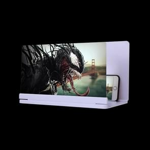 9x ultradunne schermschermschermscherm van mobiele telefoon (wit)