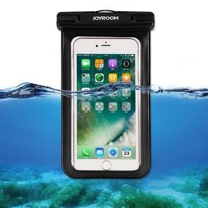 JOYROOM CY171 TPU + PVC Waterproof Mobile Phone Bag, Suitable for Less Than 6 Inch Mobile Phones(Black)