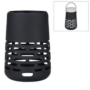 EBSC180-2 Portable Bluetooth Speaker Silicone Case Sling Cover for Bose SoundLink Revolve+ (Black)