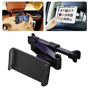 CHZ-06 Intrekbare auto rugleuninghouder voor 7-14 inch mobiele telefoons / tablets (zwart)