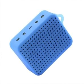 Portable Bluetooth Waterproof Speaker Durable Silicone Cover Carrying Sleeve Bag Pouch Case for JBL GO2(Blue)
