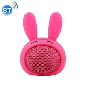 awei Y700 Mini Draagbare konijn Wireless Bluetooth Speaker  ingebouwde microfoon  steun AUX / Hand gratis Call(Red)