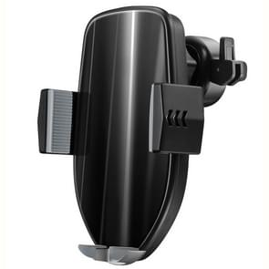 HAMTOD HMT pro 10W Air Outlet 360 graden rotatie QI intelligente Sensor auto Wireless Charging Holder(Black)