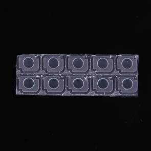 10 sets zaklamp Lens voor iPhone 7