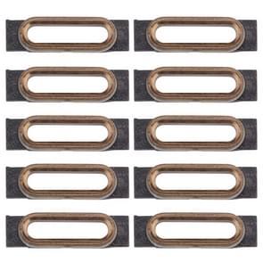 10 stuks voor iPhone 7 opladen poort behoud Brackets(Gold)