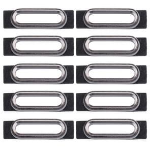 10 stuks voor iPhone 7 opladen poort behoud Brackets(Silver)