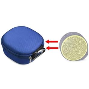 For Logitech X100 Wireless Bluetooth Speaker Nylon Protective Bag Storage Box (Blue)