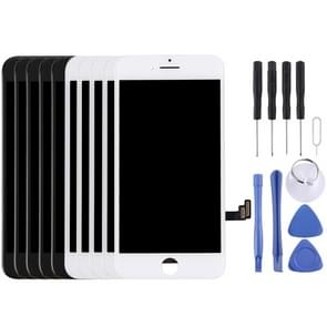 5PCS Black + 5 PCS White LCD Screen and Digitizer Full Assembly for iPhone 7(5 Black + 5 White)