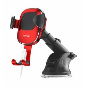 JOYROOM Glare Series JR-ZS189 Car Suction Cup Gravity Phone Bracket(Red)