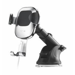 JOYROOM Glare Series JR-ZS189 Car Suction Cup Gravity Phone Bracket(Silver)