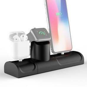 TS070C 3 In 1 multifunctioneel oplaadstation voor iPhone / Apple Watch / AirPods