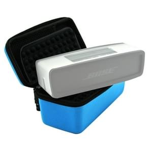 Portable Nylon Silica Gel Speaker Protective Box Storage Bag for BOSE SoundLink Mini(Blue)