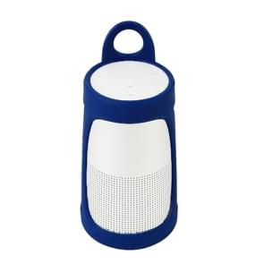 Draagbare silicagel Bluetooth Speaker beschermhoes voor BOSE SoundLink revolve + (donkerblauw)
