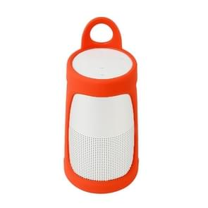 Portable Silica Gel Bluetooth Speaker Protective Case for BOSE Soundlink Revolve+ (Orange)