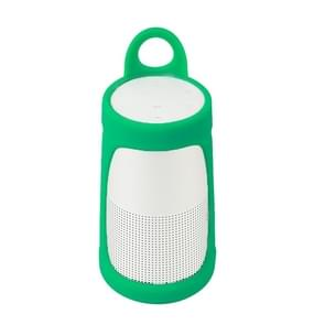 Portable Silica Gel Bluetooth Speaker Protective Case for BOSE Soundlink Revolve+ (Mint Green)