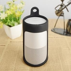 Portable Shockproof Silica Gel Bluetooth Speaker Protective Case for Bose Soundlink Revolve (Black)