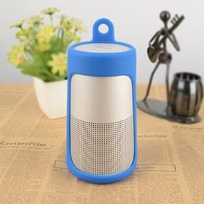 Portable Shockproof Silica Gel Bluetooth Speaker Protective Case for Bose Soundlink Revolve (Blue)