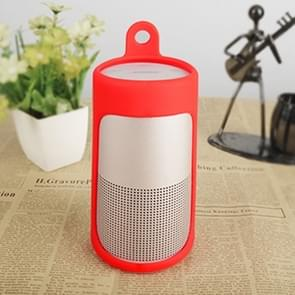 Portable Shockproof Silica Gel Bluetooth Speaker Protective Case for Bose Soundlink Revolve (Red)