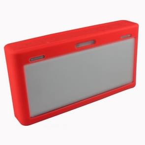 Portable Waterproof Silica Gel Bluetooth Speaker Protective Case for Bose SoundLink III (Red)