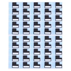 50 stuks voor iPhone 7 Plus LCD terug metaal plaat grote Stickers