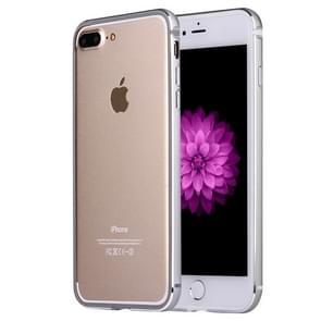 Voor iPhone 8 plus & 7 PLUS bumper frame van aluminiumlegering (grijs)