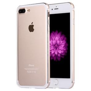 Voor iPhone 8 plus & 7 PLUS bumper frame van aluminiumlegering (goud)