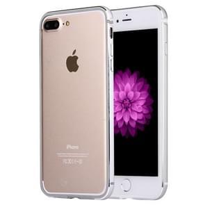 Voor iPhone 8 plus & 7 PLUS bumper frame van aluminiumlegering (zilver)