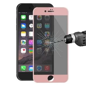 ENKAY Hat-Prince for iPhone 8 Plus & 7 Plus 0.26mm  9H Surface Hardness 3D Ultra-thin Carbon Fiber Privacy Anti-glare Full Screen Tempered Glass Protective Film(Rose Gold)