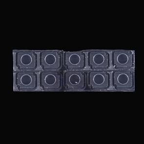 10 PCS zaklamp Lens voor iPhone 7 Plus