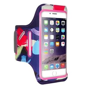 FLOVEME Printed Universal Smart Touch Telephone Armband Case, For  iPhone 8 & 7 & 6s & 6(Pink)