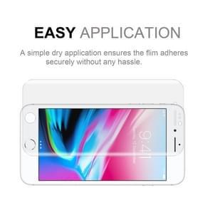 50 stuks voor iPhone 8 & 7 0.1 mm HD 3D gebogen PET Full Screen Protector  No retailpakket