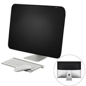 Voor 21 inch Apple iMac draagbare stofdicht dekken Desktop Apple Computer LCD Monitor Cover  grootte: 54.5x38.1cm(Black)