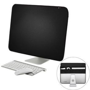 Voor 27 duim Apple iMac draagbare stofdicht dekken Desktop Apple Computer LCD Monitor Bedek met opbergtas  formaat: 68x48.2cm(Black)