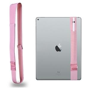 For Apple Pencil / iPad 9.7 inch General High Elastic Band Apple Pencil Band Protective Bag(Pink)