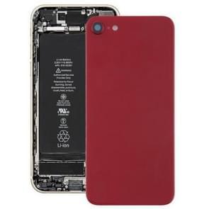 Achterkant met lijm voor iPhone 8(Rood)
